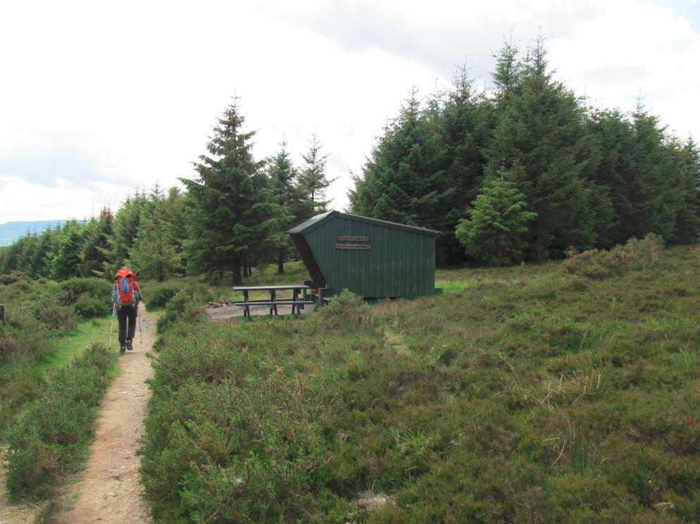 Shelter zwischen Roundwood und Glendalough