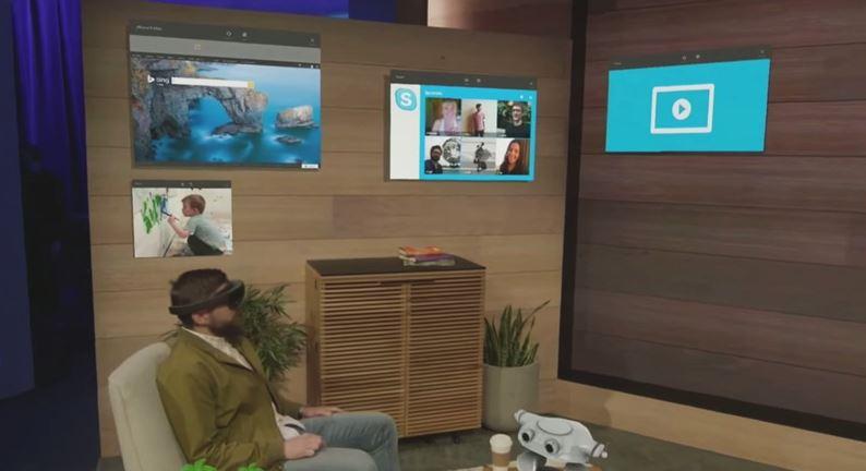 Microsoft´s HoloLens projiziert erweiterte Realität in euren Raum